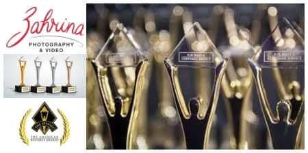 Zahrina Robertson Personal, Branding Photography and Video Branding in Sydney - award