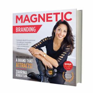 MAGNETIC BRANDING BOOK - Hardcover